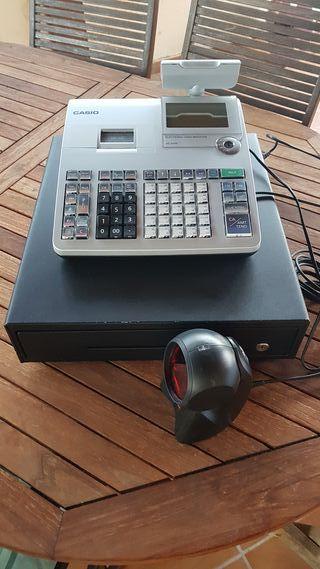Caja Registradora Casio SE-S400 Plata cajón Grande