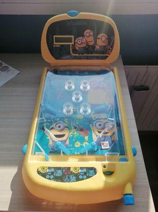 Juego pinball Los minions OPORTUNIDAD