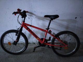 Bicicleta 20 pulgadas decathlon