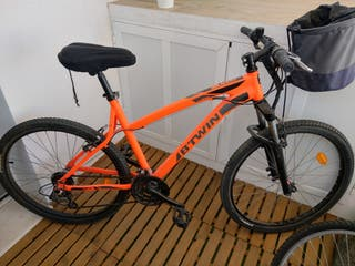 "Bicicleta RockRider 340 Naranja 26"""