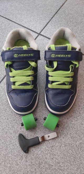 Zapatillas HEELYS con ruedas, talla 33