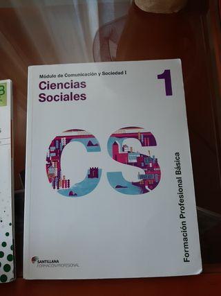 Libro ciencias sociales, 1° FPB