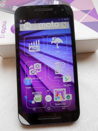 Motorola G3 nuevo