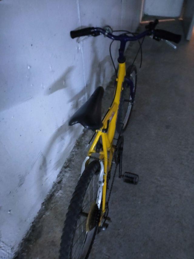 Bicicleta 20 pulgadas marca conor