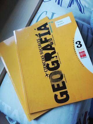 2 libros de ciencias sociales 3 ESO