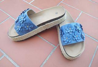 Alpargatas, zuecos, zapatos