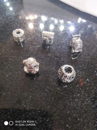 Charms de Pandora en plata maciza