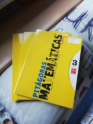 libros de matemáticas 3 ESO