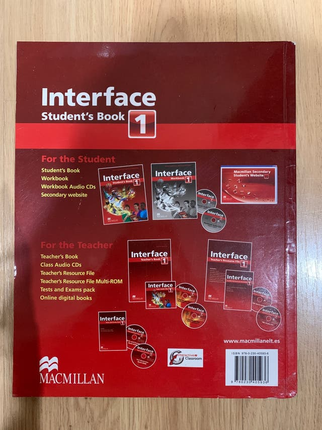 Interface Student's Book 1Eso