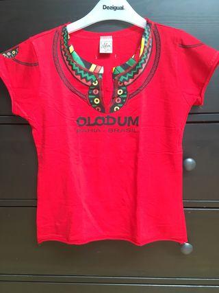 Camiseta Olodum Talla M. Perfil solidario