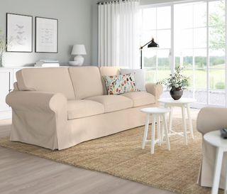 Sofa - cama 3 plazas blanco Ektorp ikea