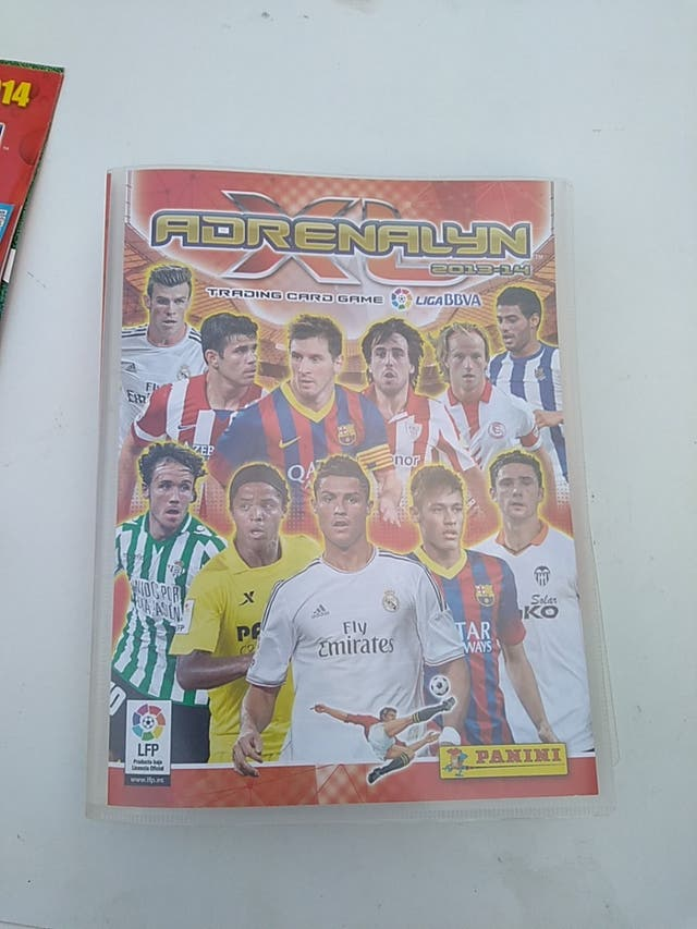 Álbum+cromos Adrenalyn FIFA 2013/14
