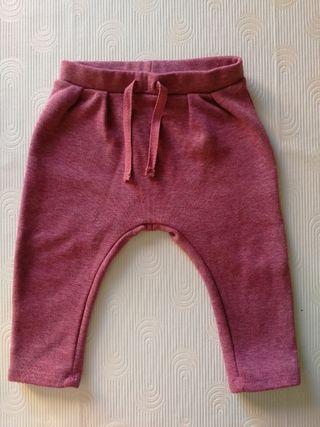 Pantalón chándal bebé Zara. 74cm