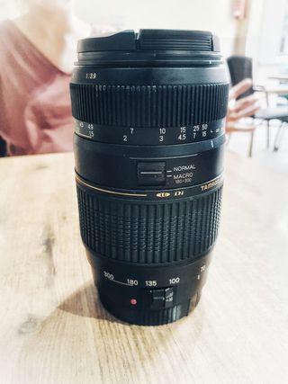 Objetivo TAMRON 70-300mm para Canon
