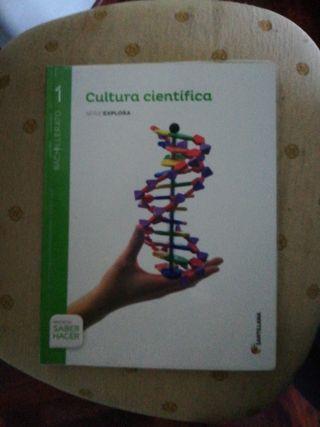 Libro de Cultura Científica, 1Bach