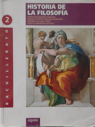 Historia de la Filosofía, 2° Bachillerato