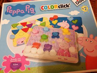 Color click Peppa Pig