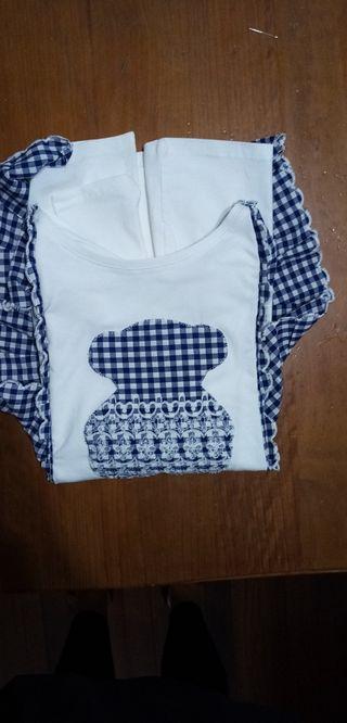 Camiseta talla xl, manga larga.
