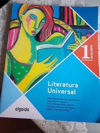 literatura universal 1 bachillerato
