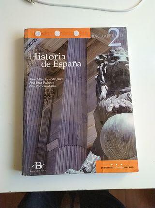 Se vende libro Historia de España 2° Bachillerato
