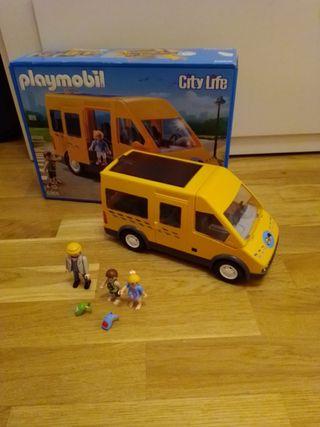 autobús colegio Playmobil