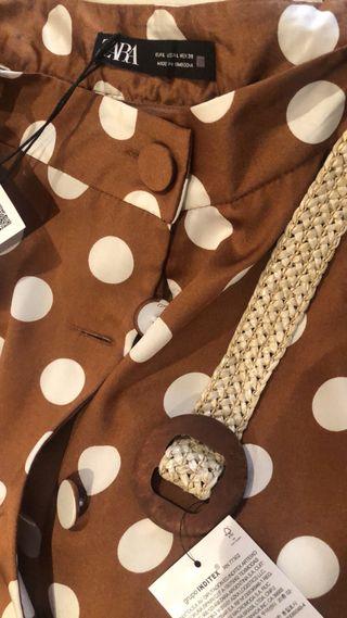 Falda lunares Zara