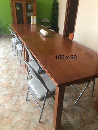Mesas madera maciza