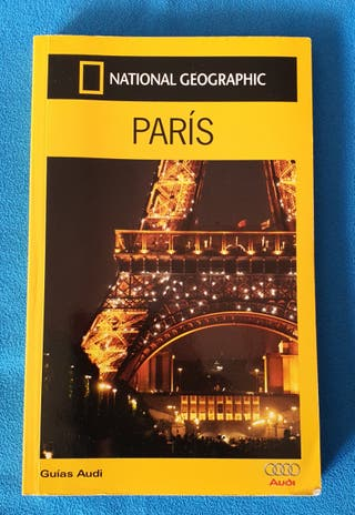 Libro guía de viajes París