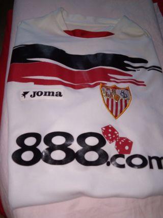 camiseta Sevilla fc temp 06/07