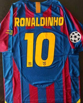 Camiseta retro Barcelona 2006 UCL