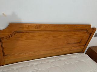 Cabecero madera maciza 150