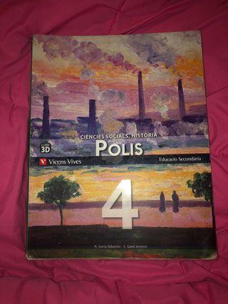 Ciències socials, història Nou POLIS 4 Vicens Vice