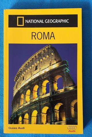 Libro guía de viajes Roma