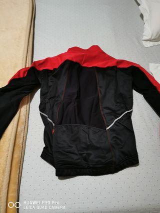 chaqueta invierno btt