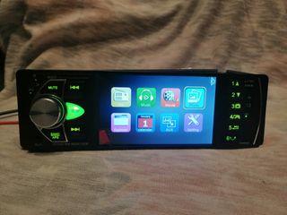 Radio coche 1 Din, MP5, USB, stereo