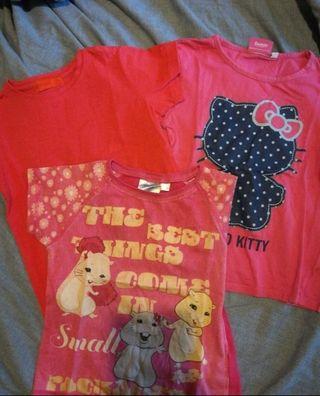 Camisetas talla 5