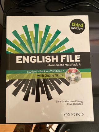 Libro English File multipack A
