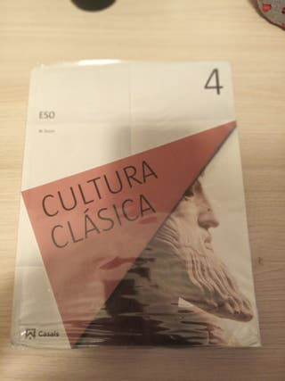 libro cultura clásica 4º eso