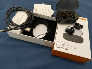 Auriculares bluetooth sin cables