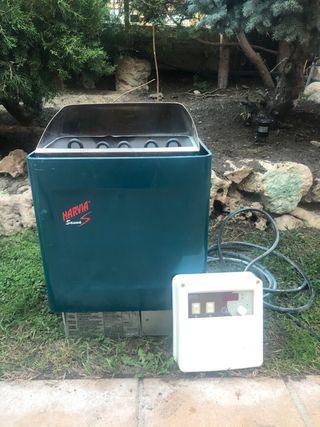 Estufa calentador sauna