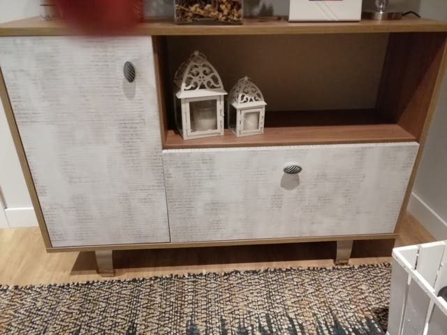 mueble impecable