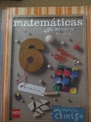 Matemáticas 6°PRIMARIA