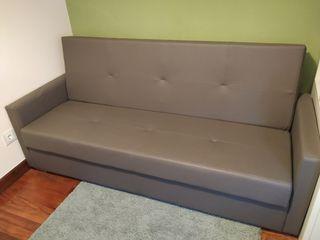 Sofá cama polipiel