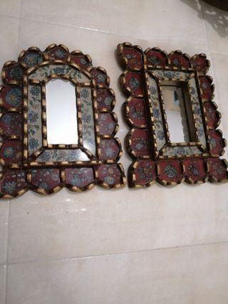 Cuadros espejos barrocos