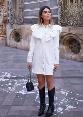 Vestido Vaquero Zara
