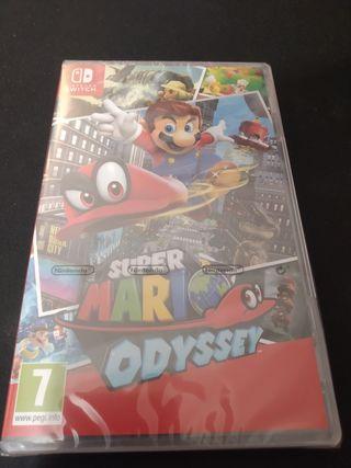 Mario odyssey nuevo