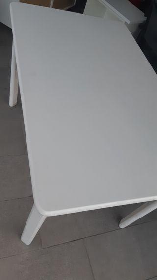 Mesa rectangular de cocina