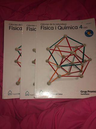 Física i Química 4ESO Santillana
