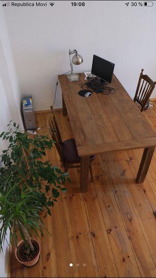 Mesa madera maciza Acacia