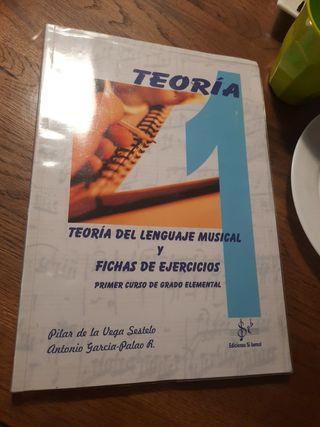 Teoría del lenguaje musical y fichas de ejercicios